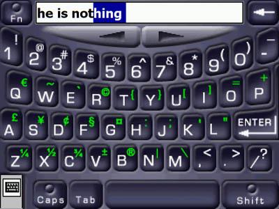 SPB Full-Screen Keyboard - Landscape