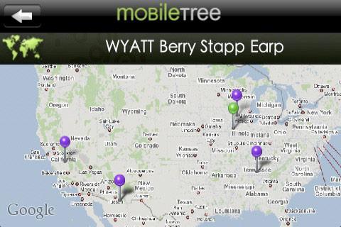 MobileTree - Map