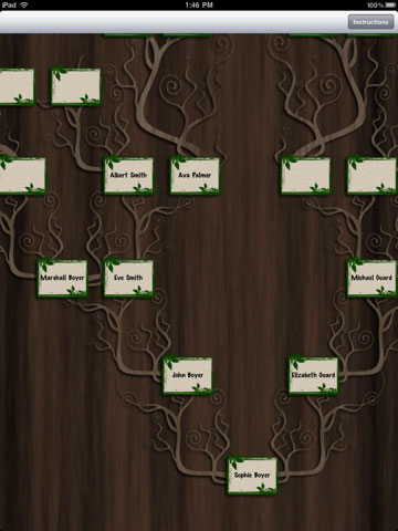 Genealogy software/app for the iPad